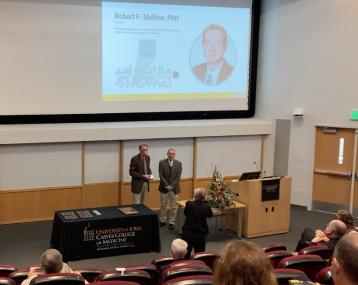 Dr. Mullins 2020 Carver College of Medicine Impact Scholar